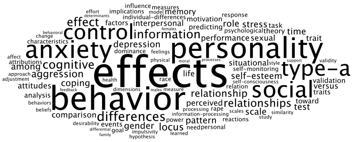 p the online newsletter for personality science